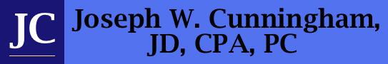 Joseph W. Cunningham, JD, CPA, PC
